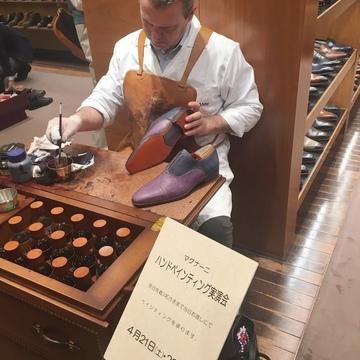 スペインMAGNANNIの紳士靴