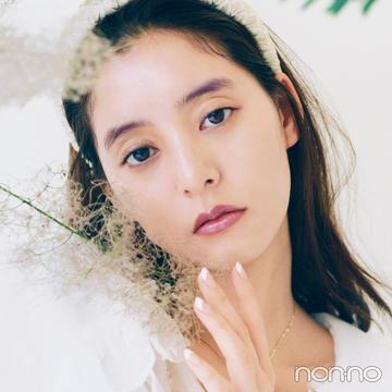 【KANEBO新作コスメ】パープル眉×リップであか抜けメイク【新木優子のメイク連載】