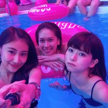 summer party♡プールでちょっとしたポイント