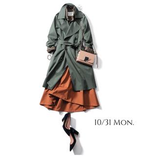 コートを着たままでも粋に見えるコーデで仕事関係のレセプションへ