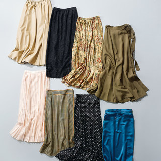 華やぎスカート&旬デザインパンツ【2020秋冬・おしゃれプロの「これ買っちゃいました」】
