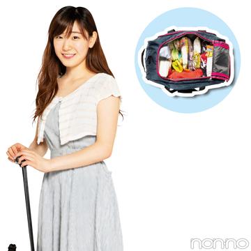 ノンノ専属読モ・カワイイ選抜の夏合宿のパッキングの極意☆