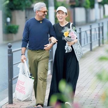 【ワンマイルおしゃれSNAP】大草直子さんの心地よく&気分が上がるコーデ3