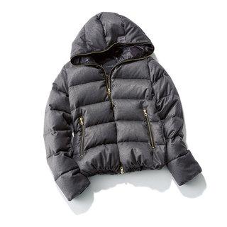 女らしく着こなすのがポイント!冬のダウンジャケットコーデ10選