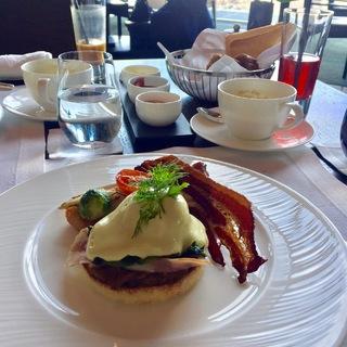 アマン東京で幸せ朝食♡
