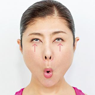 まぶたのたるみ、クマ、腫れまぶたetc. 顔ヨガで目もとの悩みをなくす!