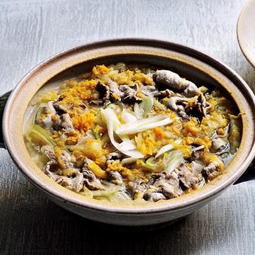 寒い冬に免疫力高めてくれる「白菜と長ねぎの豚しゃぶ」【ウー・ウェンさんの体にいい鍋】