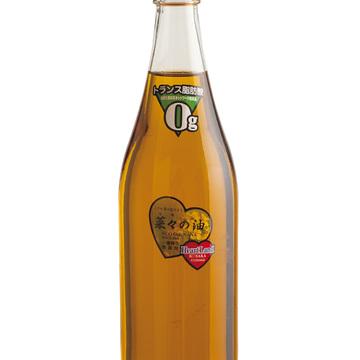 一番絞りの菜種油 エコサカの「菜々の油」