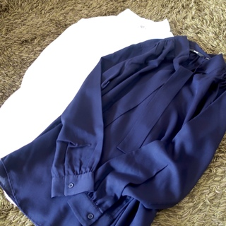リアルに週5で着ているユニクロのボウタイブラウスが超優秀!
