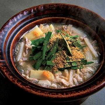 塩豚と根菜の鍋