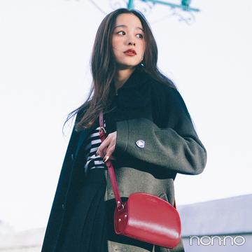 【堀田真由のパリシックに憧れて①】定番スタイルに「赤」をひとさじ。パリガールに変身