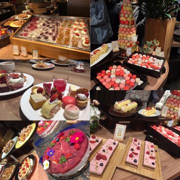 スイーツ好き必見!京都タワーホテル Berry sweets buffet ♡