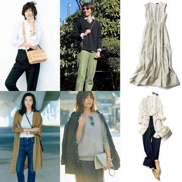 今、欲しい『オールシーズン服』カタログをチェック!【ファッション人気ランキングTOP10】