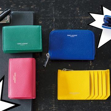 サンローランのミニ財布がカラフル&スタイリッシュと話題!【20歳からの名品】