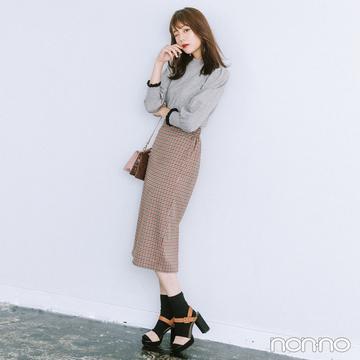 女っぷりを上げるタイトミディスカートで秋モテ♡【毎日コーデ】