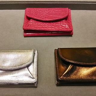 和光のロングセラー、極小三つ折財布で大人女子のたしなみ度をUP