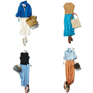 アラフォーの好感度をあげてくれる【ブルーコーデ】11選 | アラフォーファッション