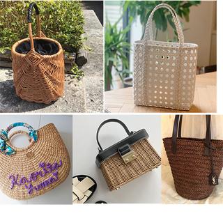 【2021夏 かごバッグ】おしゃれなアラフォー5人が手に入れた今夏のかごバッグ|美女組Pick up!