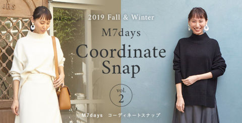 おしゃれも、きちんと感も、暖かさも、すっきり見えも!すべてがかなう仕事服・M7daysのセットアップ&ワンピース_1_5