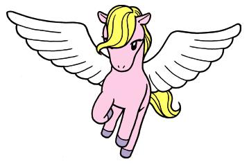 強靭な翼をもつペガサス