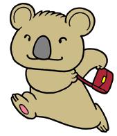 フットワークの軽い子守熊