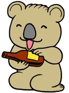 サービス精神旺盛な子守熊
